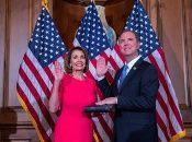 La presidenta de la Cámara Baja tendrá como primera tarea resolver el cierre parcial del gobierno de EE.UU.