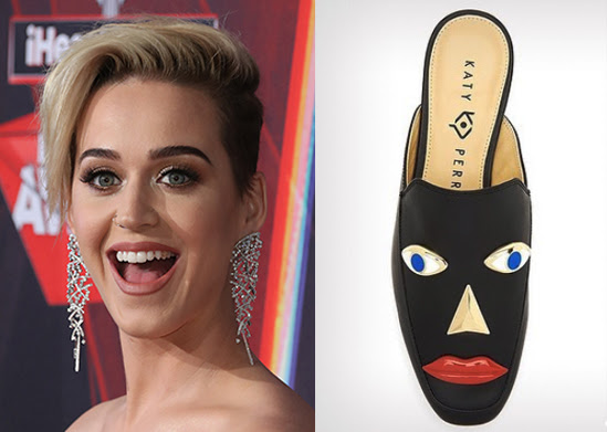 Image result for katy perry blackface shoe