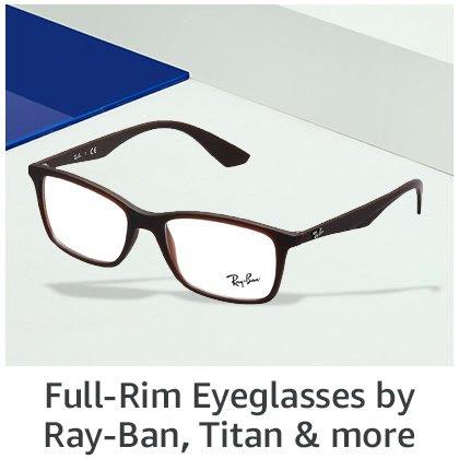Full rim eyeglasses by RayBan, Titan & more