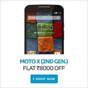 MOTO X ( 2nd Gen) | Flat Rs.8,000 Off