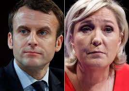 Image result for photos of Emmanuel Macron in France donald trump