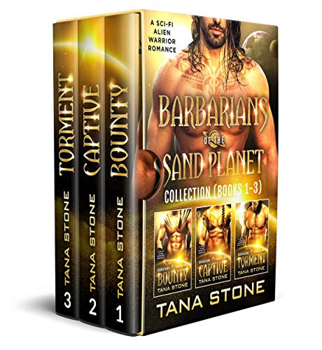 Cover for 'Barbarians of the Sand Planet Box Set (Books 1-3)'