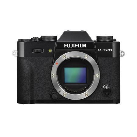 X-T20 24.3MP Mirrorless Digital Camera (Body Only), UHD 4K Video, Panorama, Black