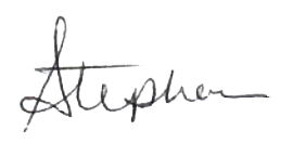 Stephanie Signature