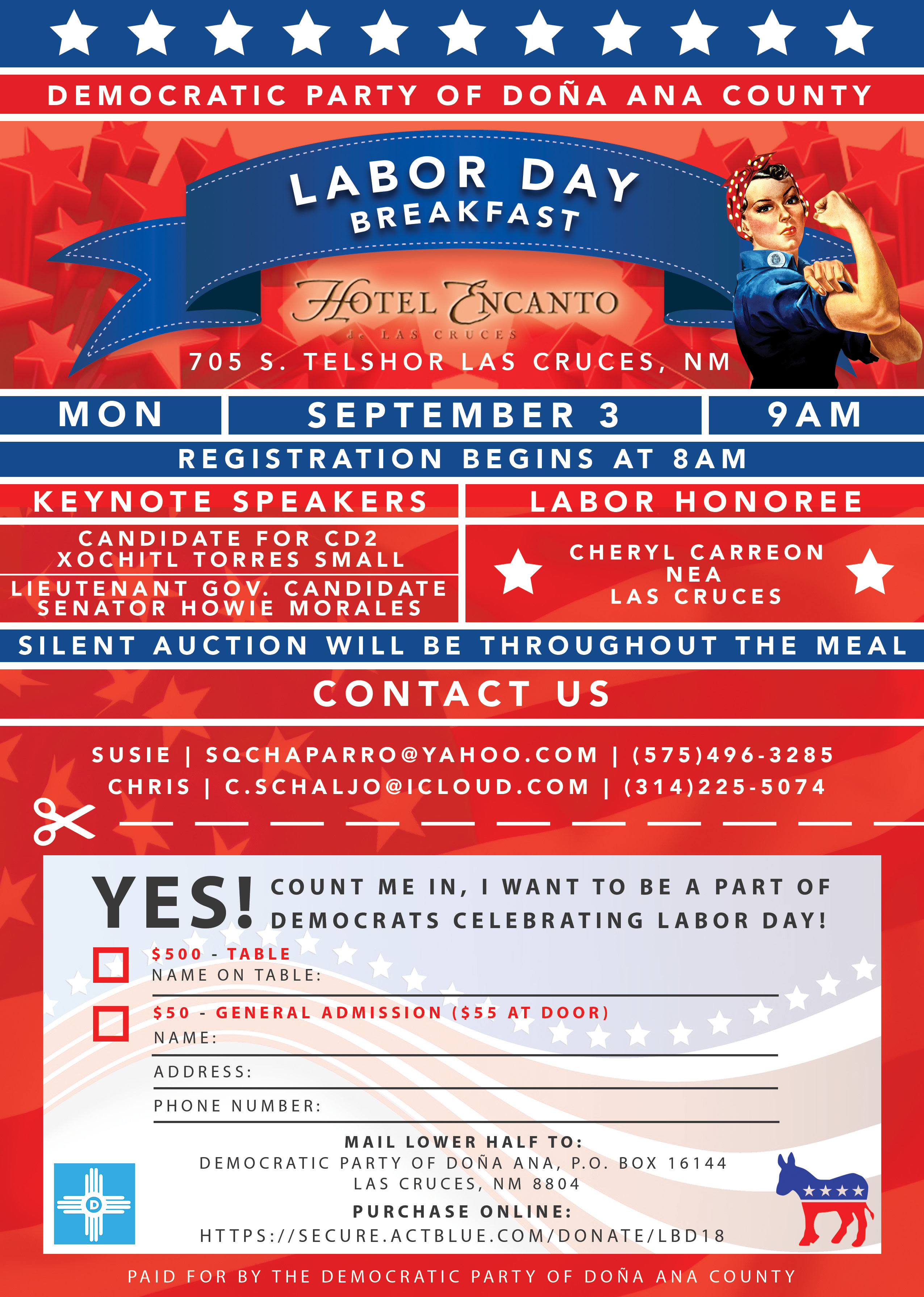 DPDAC Labor Day Breakfast @ Hotel Encanto | Las Cruces | New Mexico | United States