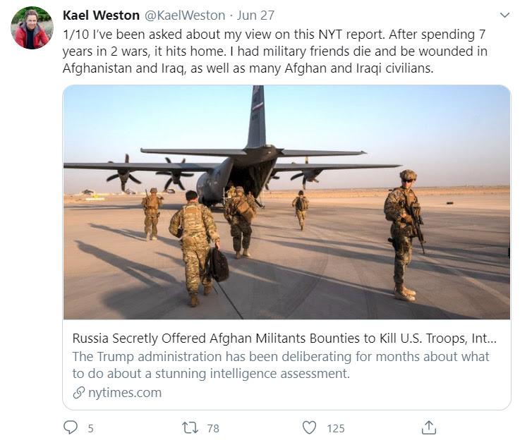 Kael Weston on Twitter