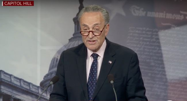 Schumer: Obamacare Bailout Will Pass, 'Put It on the Floor Immediately'