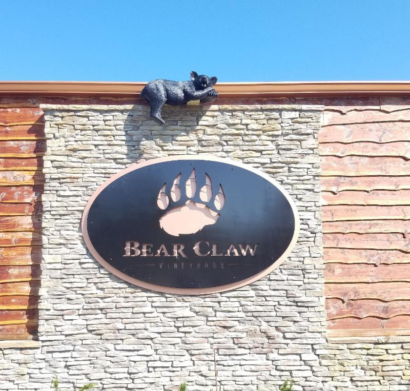BEAR CLAW BUILDING WITH LOGO