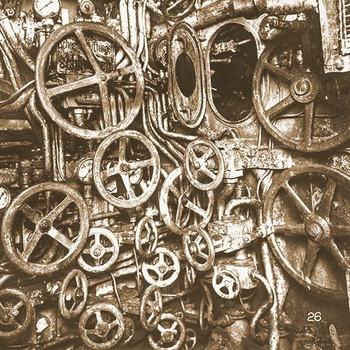 Interior of a WWI era German U-Boat
