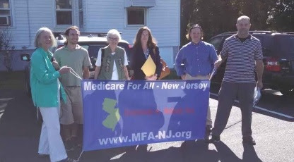 Rallying at Pallone's Office