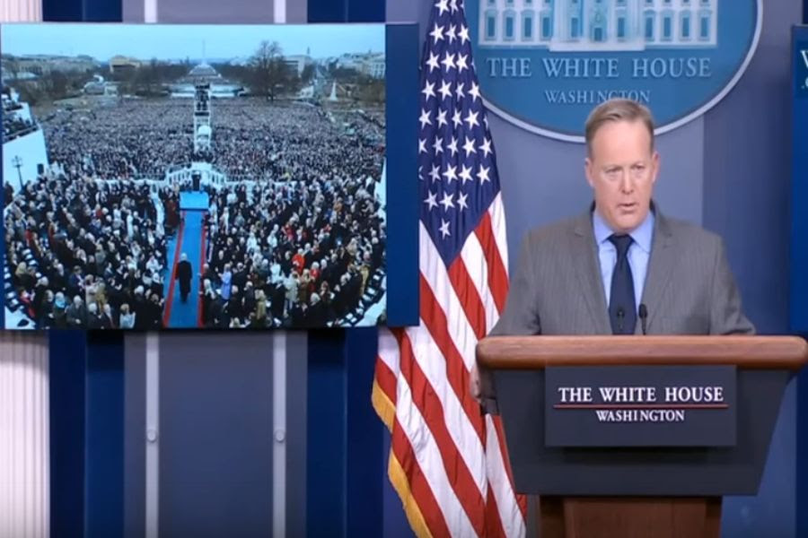 US Press Secretary Sean Spicer - Jan. 21, 2017