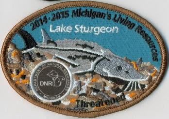 lake sturgeon patch