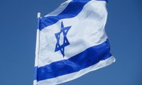 Small blog flag of the state of israel