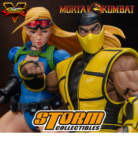STORM COLLECTIBLES MORTAL KOMBAT & STREET FIGHTER 1/12 SCALE FIGURES