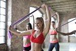 Chicas en el gimnasio