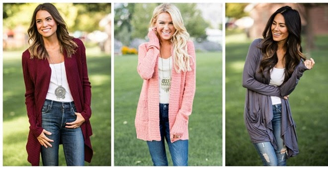 Cardigan Clearance!