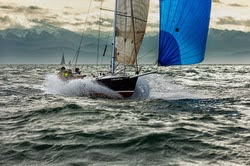 J/80 sailing Seattle Grand Prix