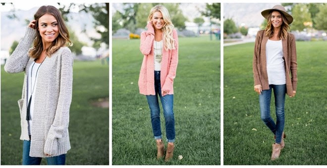 Cozy Boucle Cardigan + More!