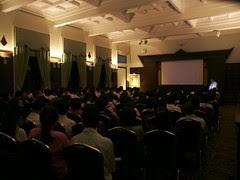 Screening of Dhamma Society's Tipitaka Documentary for 1st yr Sport Science Students at Chulalongkorn Univ 2003