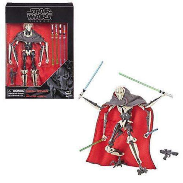 Image of Star Wars The Black Series General Grievous 6-Inch Action Figure