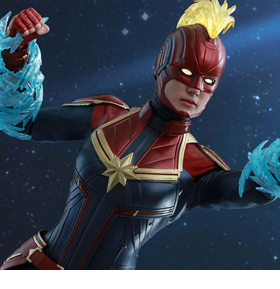 Captain Marvel MMS521 Captain Marvel 1/6th Scale Collectible Figure