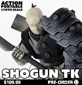 Action Portable Shogun TK Tsuki 1/12 Scale Figure