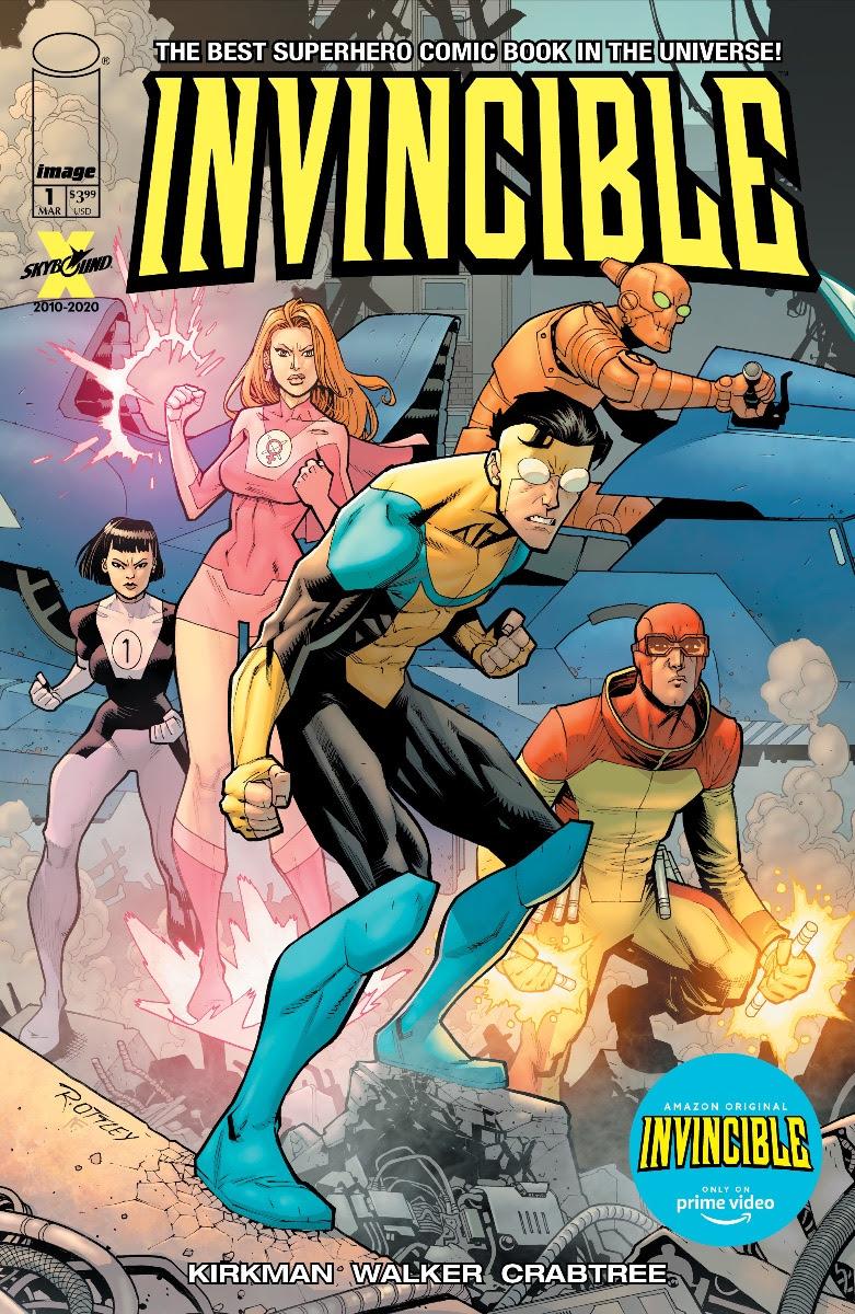 Robert Kirkman Announces Invincible TV Cover Art Variant