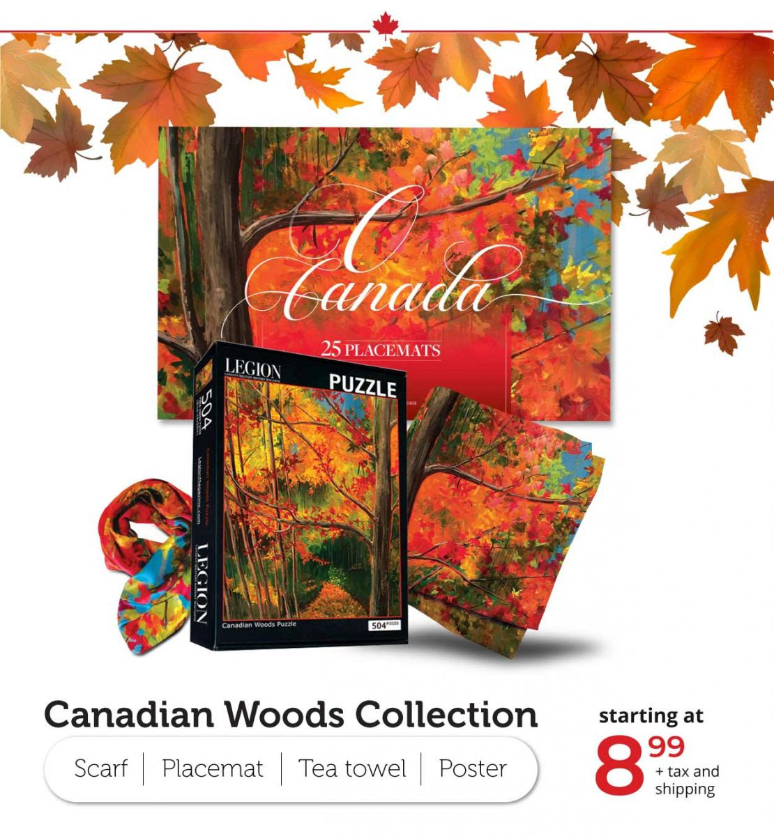 Canadian Woods Collection