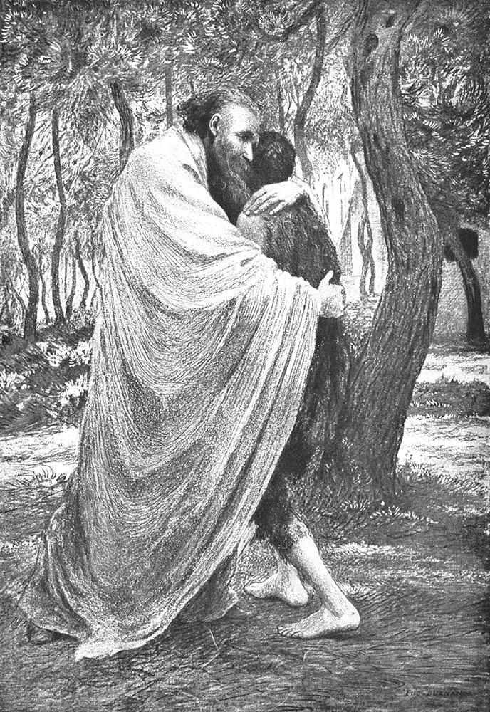 Prodigal Son, by Eugène Burnand
