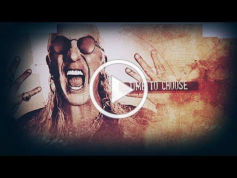 """DEE SNIDER - Time To Choose ft. George """"Corpsegrinder"""" Fisher (Official Lyric Video) 