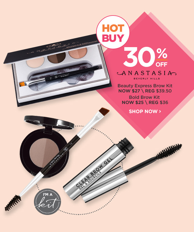 ANASTASIA | Beauty Express NOW $27, Bold Brow Kit NOW $25