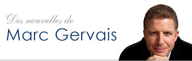 Des nouvelles de Marc Gervais