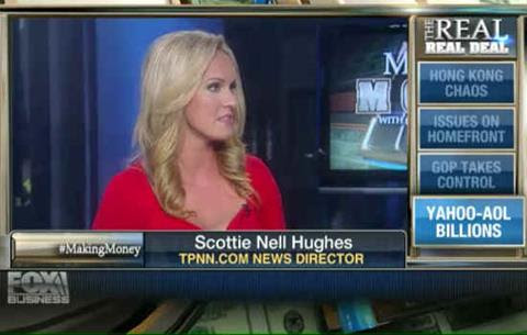 Scottie Hughes to GOP: If You Win the Senate, Here's Some Advice to Get the Economy Going Again