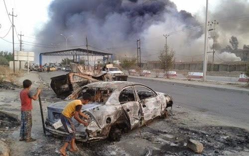 Iraq coche bomba