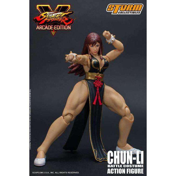 Image of Street Fighter V Hot Chun-Li (Arcade Edition) 1/12 Scale (NYCC 2018 Exclusive)