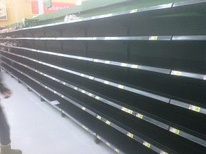 <b>Empty</b> <b>shelves</b> <b>at Walmart</b> in Ocean Township, Monmouth County. (Ilya ...