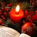 Bible Candle Christmas