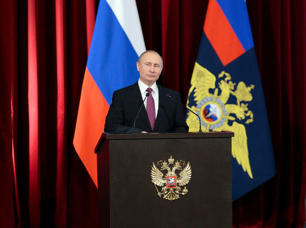 President Vladimir V. Putin of Russia. President Trump's administration has accused Russia of trying to cover up a Syrian chemical weapons attack on civilians.