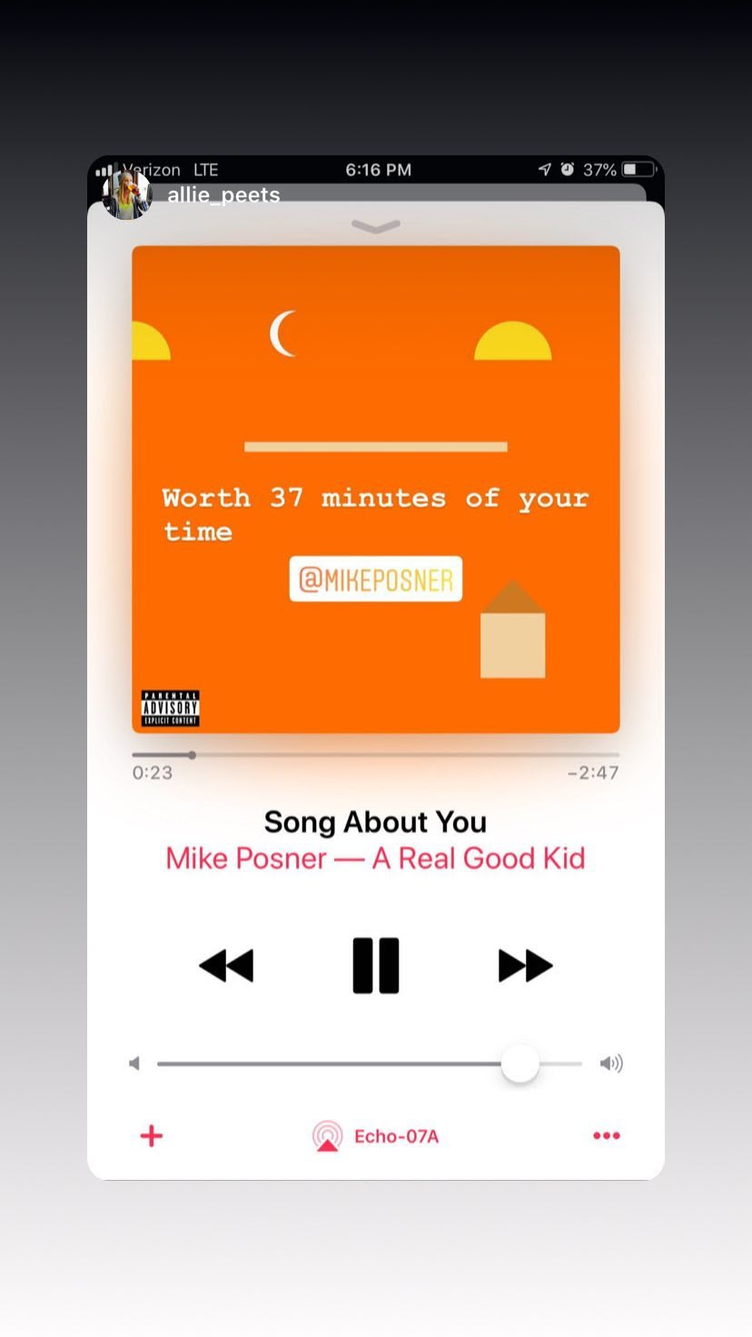 "🚶🚶 Mike Posner 'Moves On"" Across America and Gets Social Support from Justin Bieber, Ty Dolla $ign, Millie Bobby Brown 🚶🚶"