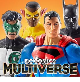 DC COMICS MULTIVERSE WAVE 10 SET OF 4 FIGURES