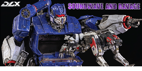 Bumblebee DLX Scale Collectible Series Soundwave and Ravage
