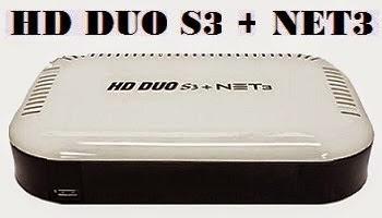 FREESATELITAL  - FREESATELITAL HD DUO S3 NET3 NOVA ATUALIZAÇÃO - 07/06/17