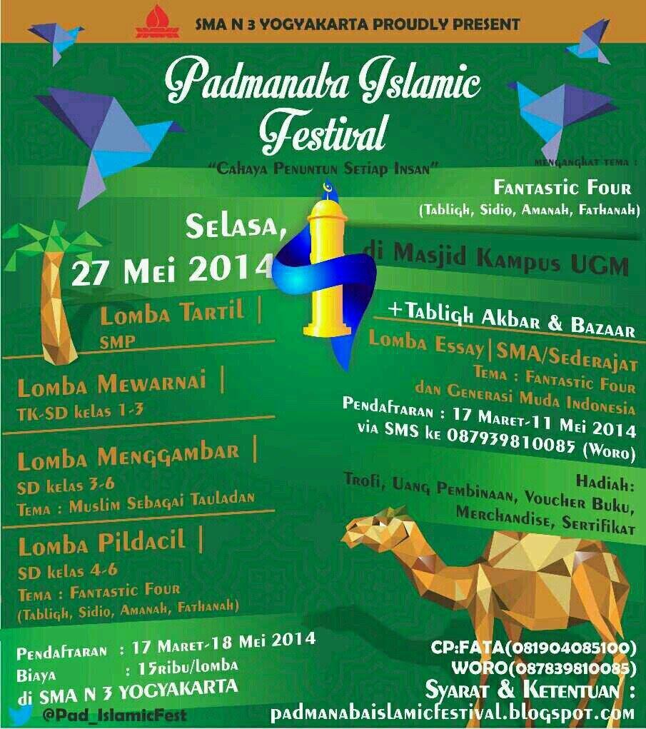 Padmanaba Islamic Festival 2014