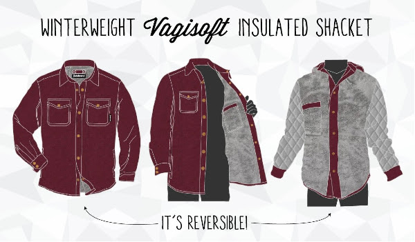 Insulated Reversible Shacket