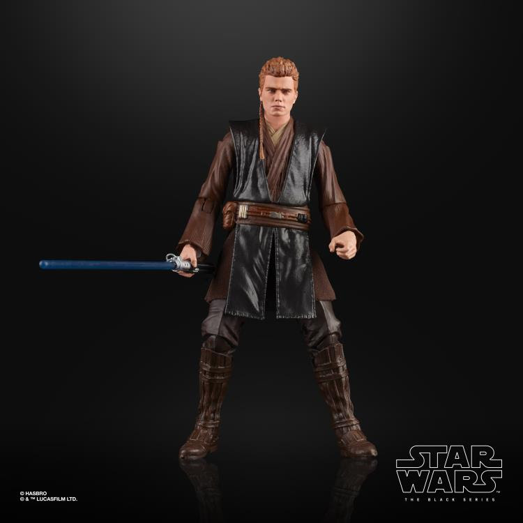 Image of Star Wars The Black Series Anakin Skywalker (AOTC) 6-Inch Action Figure