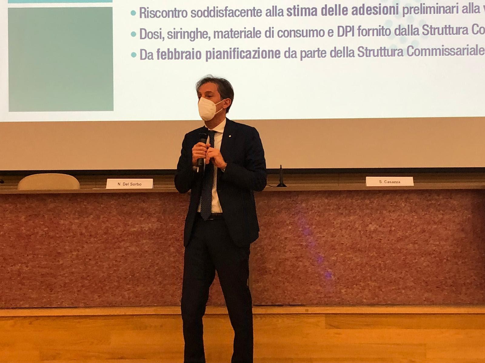 vacination day, Sala al San Gerardo di Monza