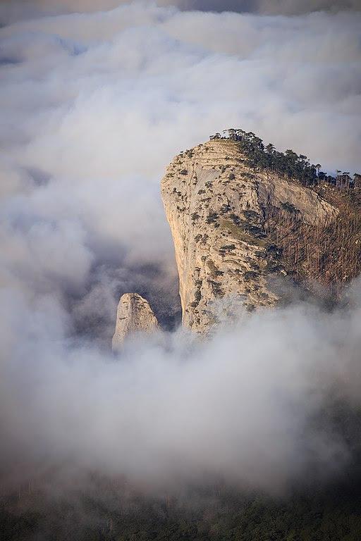 Скеля Шаан-Кая, Ялтинський гірсько-лісовий природний заповідник, АР Крим | Олександр Черних