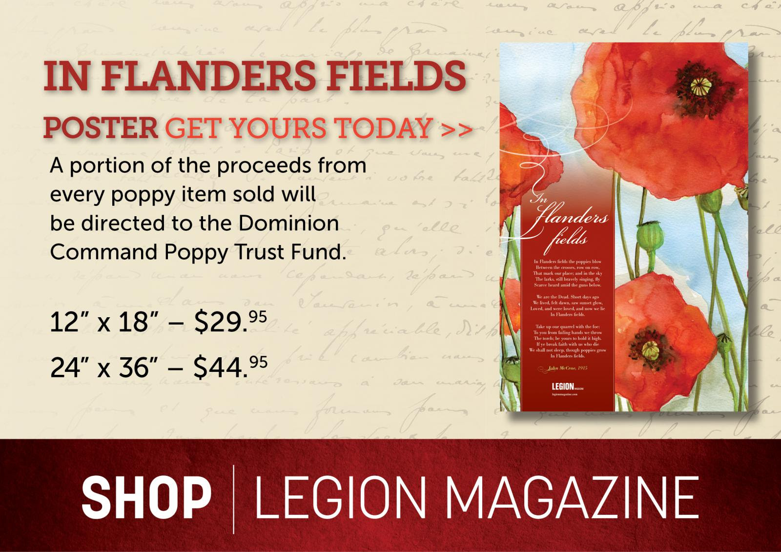 In flanders fields posters