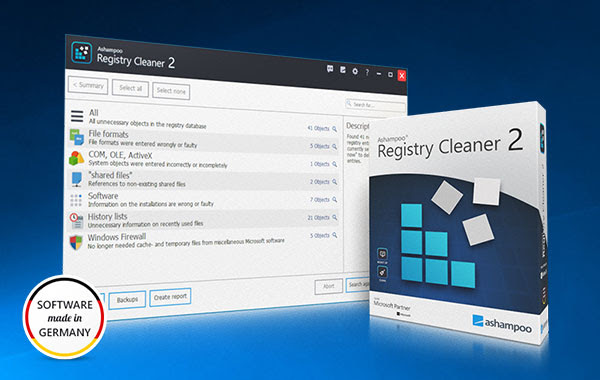 Ashampoo Registry Cleaner 2 Featured Image
