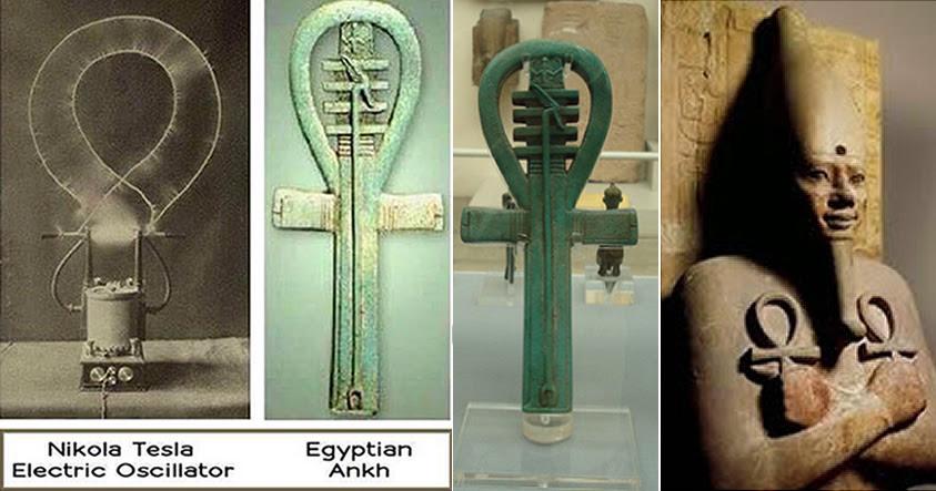¿Es el «Ankh» o Cruz Egipcia el origen del electromagnetismo en el antiguo Egipto?